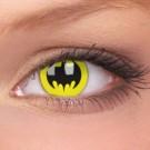 barevné čočky CRAZY batman 1ks roční