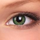 barevné čočky nedioptrické 3 TONE green (2 čočky)