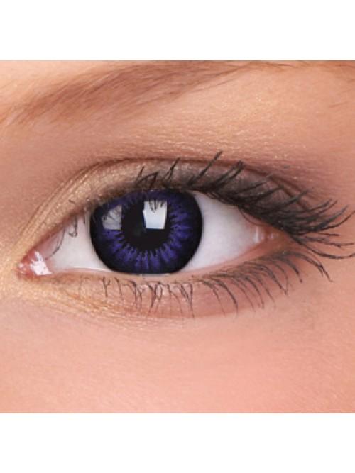 barevné čočky nedioptrické BIGEYES ultra violet (2 čočky)