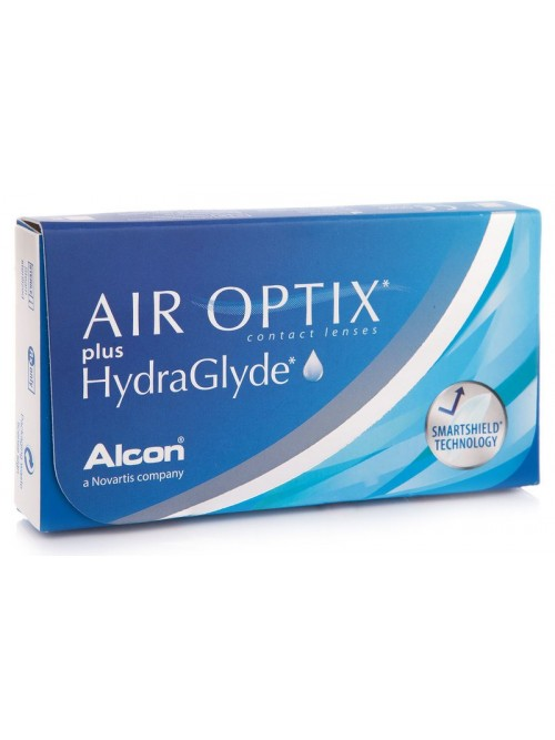 Air Optix Plus Hydraglyde 6 čoček