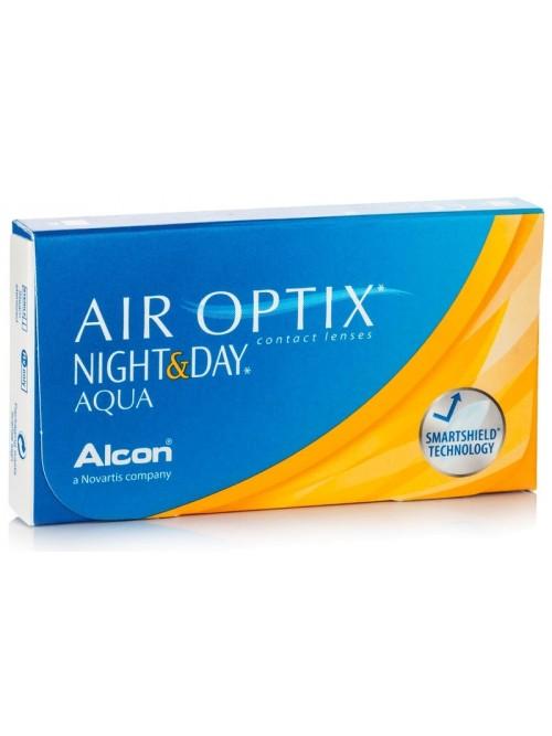 AIR OPTIX™ NIGHT & DAY™ Aqua (6 čoček)