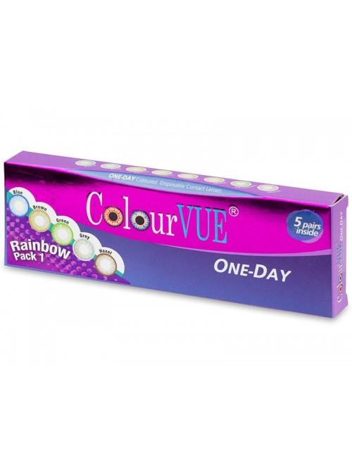 ColourVue Trublends One-Day Rainbow Pack 1