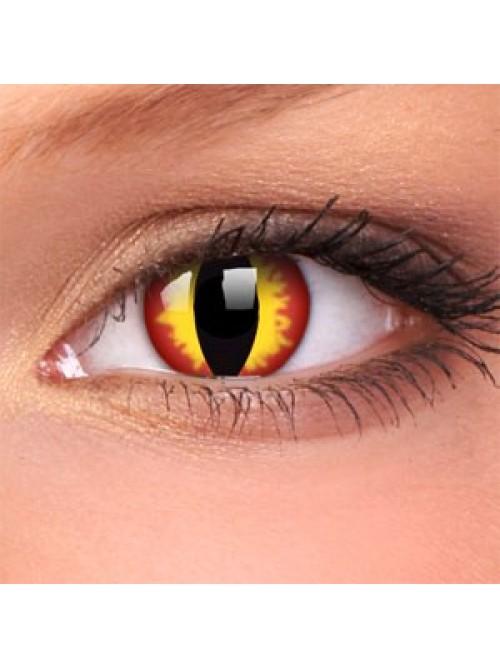 CRAZY čočky dioptrické - dragon eyes (2 čočky)