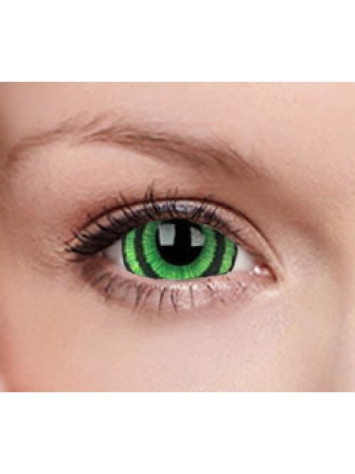CRAZY Green goblin 17 mm (2 čočky roční)