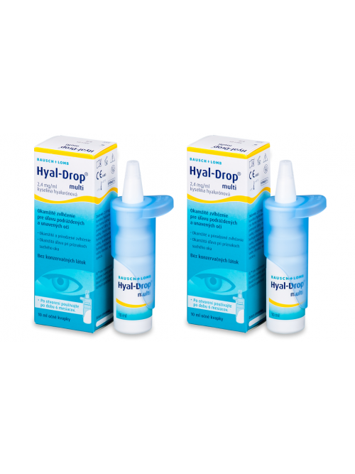 oční kapky Hyal-Drop® multi  2 x 10 ml