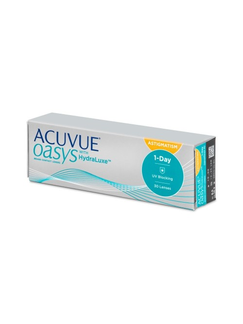 Acuvue Oasys 1-Day with HydraLuxe for Astigmatism 30 čoček