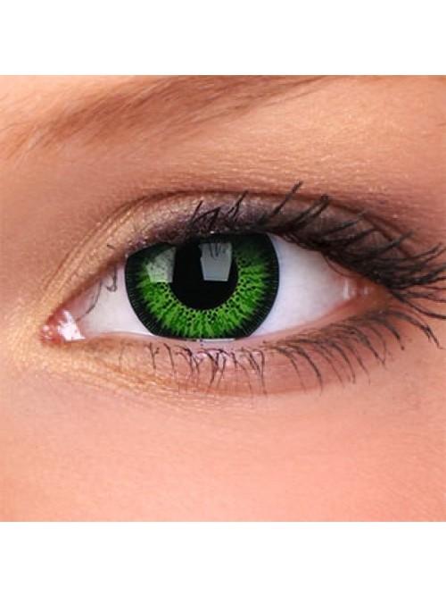barevné čočky dioptrické Phantasee Vivid Green (2 čočky)