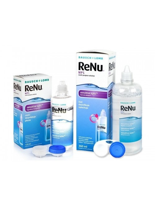 roztok ReNu MPS Sensitive Eyes 360 ml + ReNu MPS Sensitive Eyes 120 ml