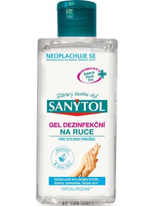 Sanytol Sensitive dezinfekční gel 75 ml