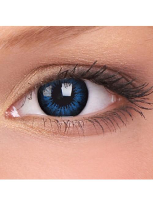 barevné čočky dioptrické BIGEYES cool blue (2 čočky)