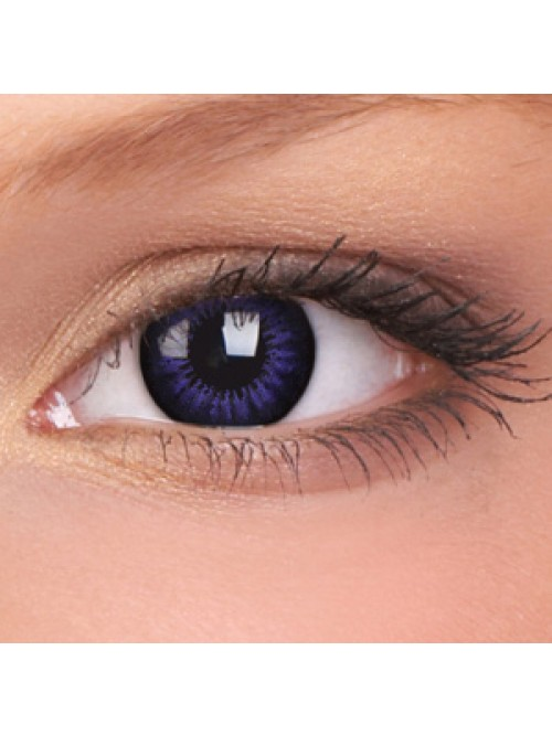 barevné čočky dioptrické BIGEYES ultra violet (2 čočky)