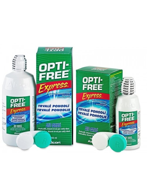 Opti-Free Express 355 ml + Opti-Free Express 120 ml