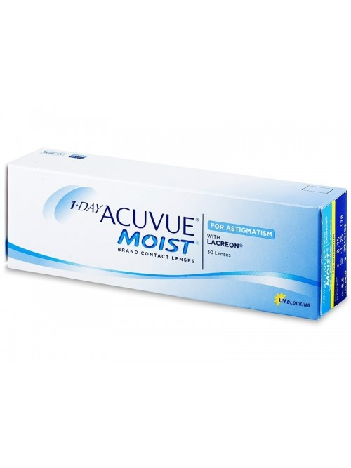 Acuvue MOIST For Astigmatism (30 čoček)