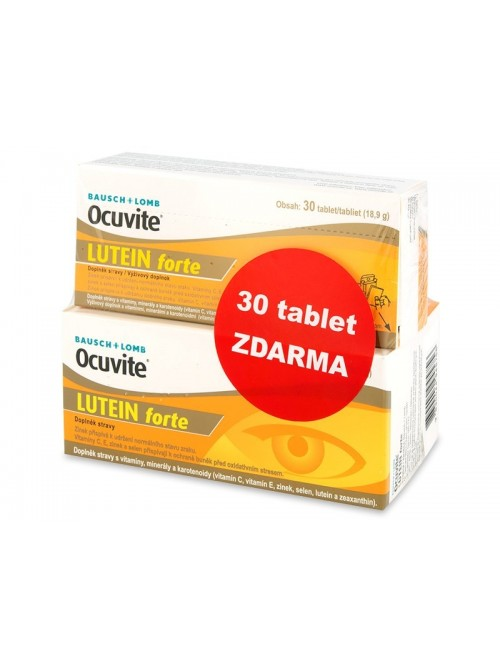 Ocuvite Lutein forte (60 + 30 kapslí ZDARMA)