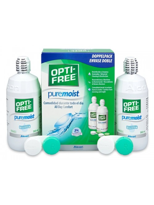 Opti-Free PureMoist 2 x 300 ml