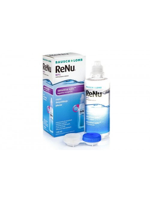 roztok ReNu MPS Sensitive Eyes 120 ml