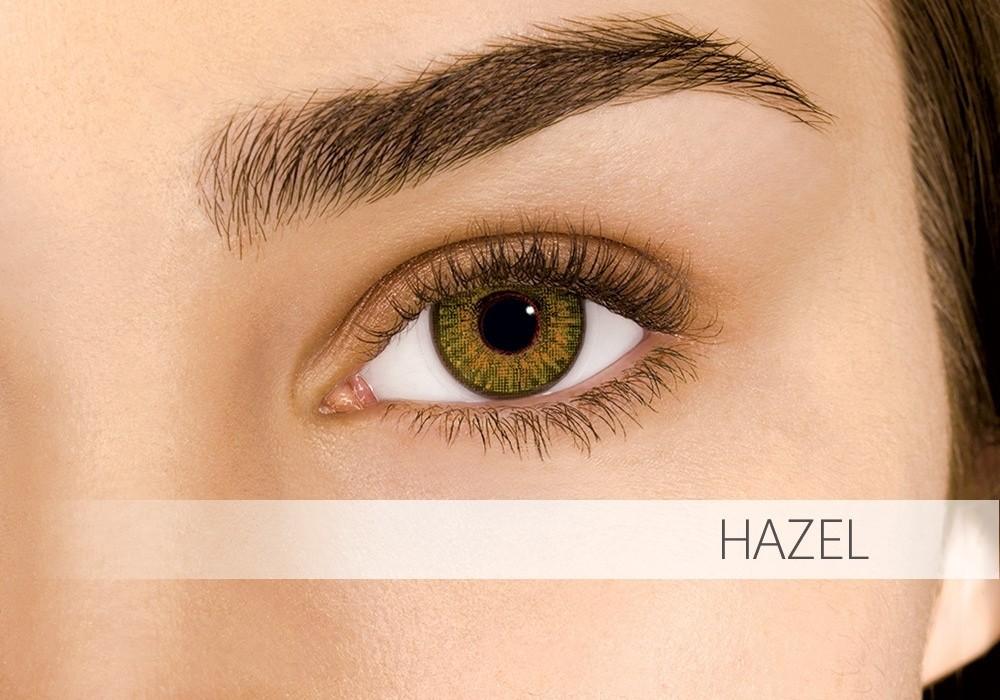 Air Optix Colors Pure Hazel - nedioptrické (2 čočky)