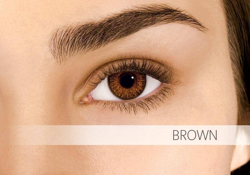 Air Optix Colors Brown - nedioptrické (2 čočky)