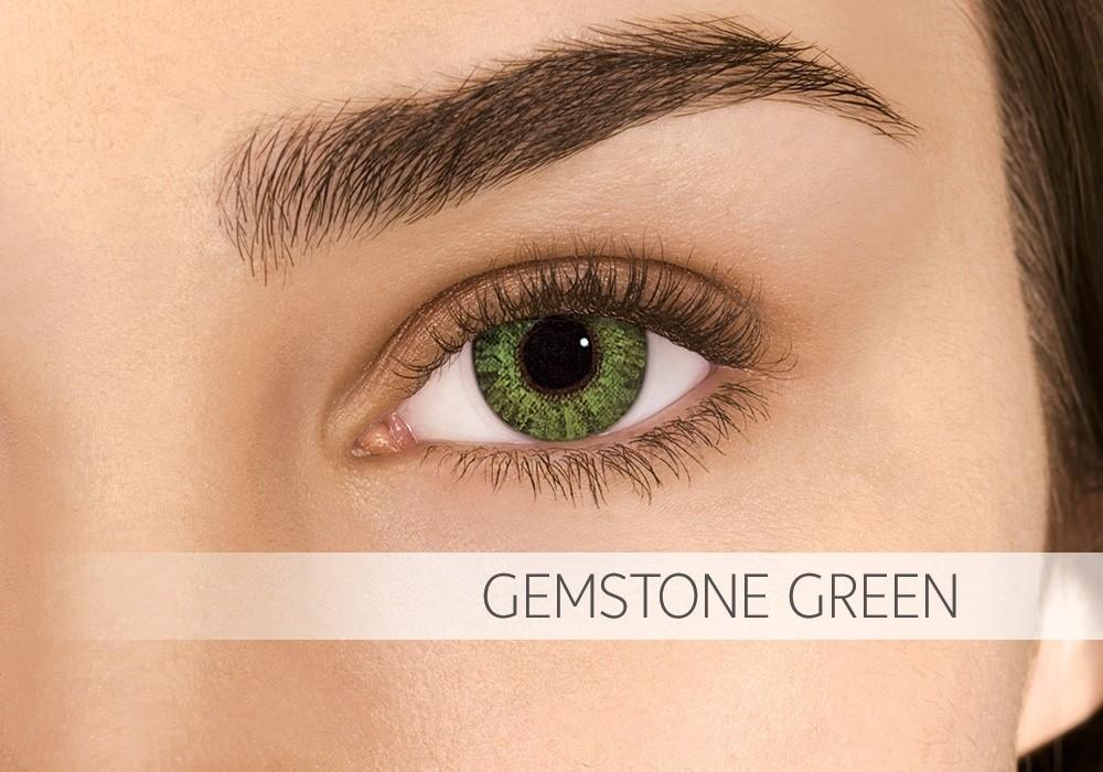 Air Optix Colors Gemstone Green - nedioptrické (2 čočky)