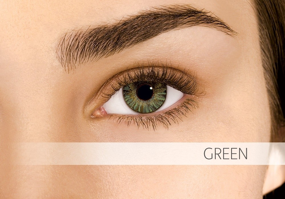 Air Optix Colors Green - nedioptrické (2 čočky)