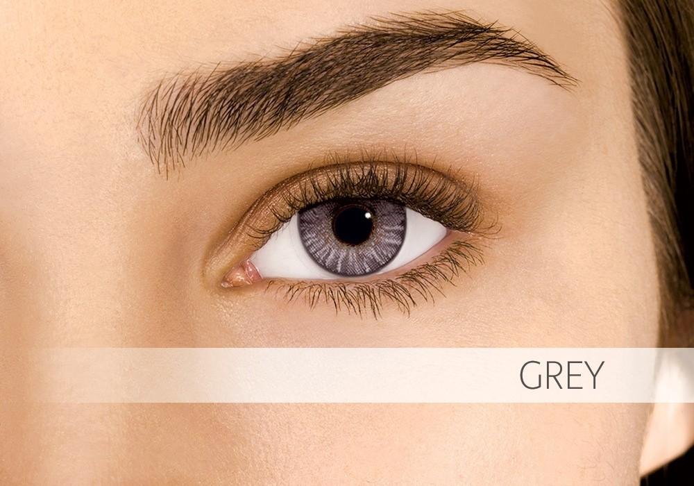 Air Optix Colors Grey - nedioptrické (2 čočky)