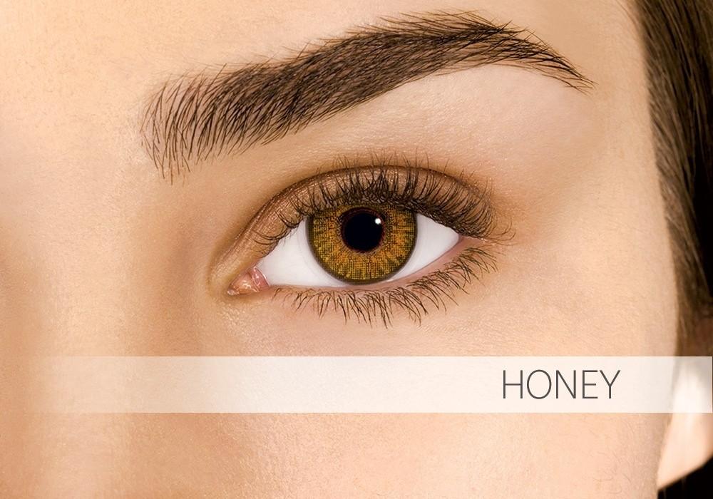 Air Optix Colors Honey - nedioptrické (2 čočky)