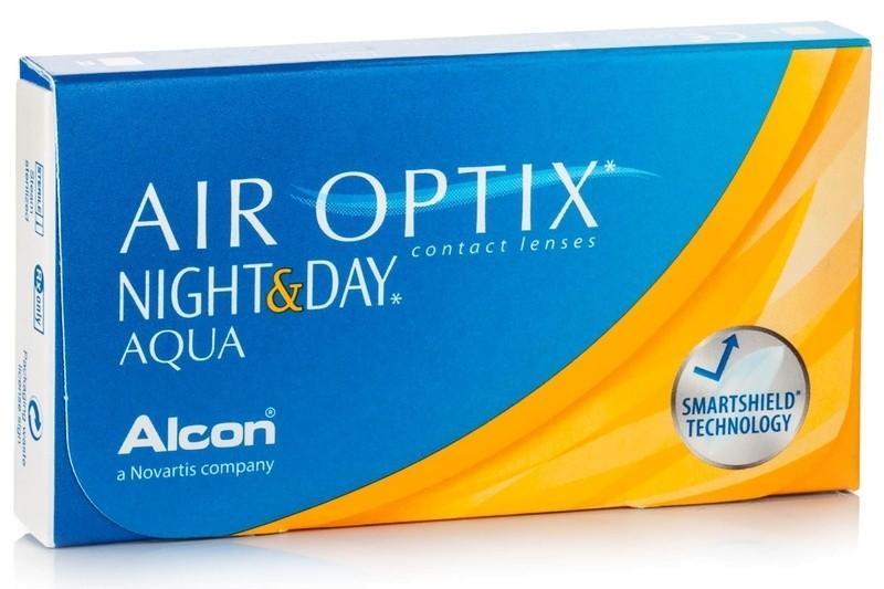 AIR OPTIX NIGHT & DAY Aqua (3 čočky)