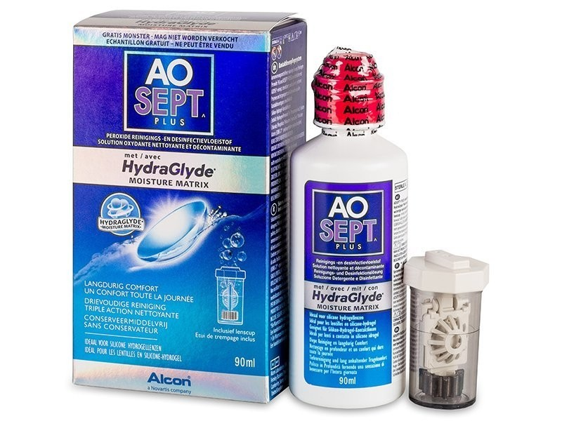 roztok AOSEPT PLUS HydraGlyde 90 ml