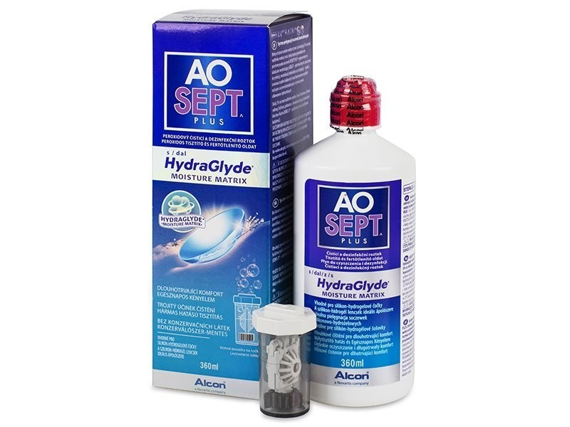 roztok AOSEPT PLUS HydraGlyde 360 ml