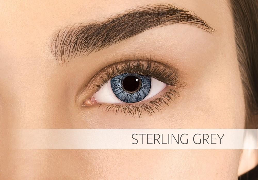 Air Optix Colors Sterling Grey - nedioptrické (2 čočky)