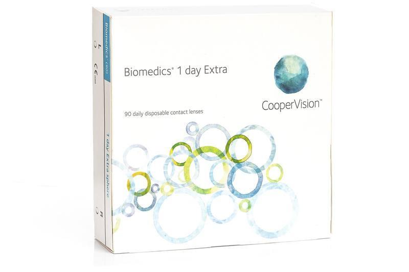 Biomedics 1 Day Extra (90 čoček)