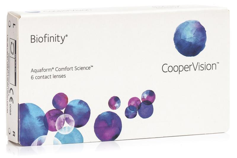 Biofinity (6 čoček)