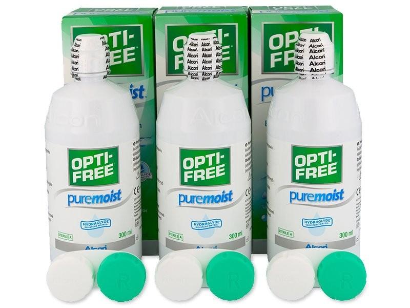 Opti-Free PureMoist 3 x 300 ml