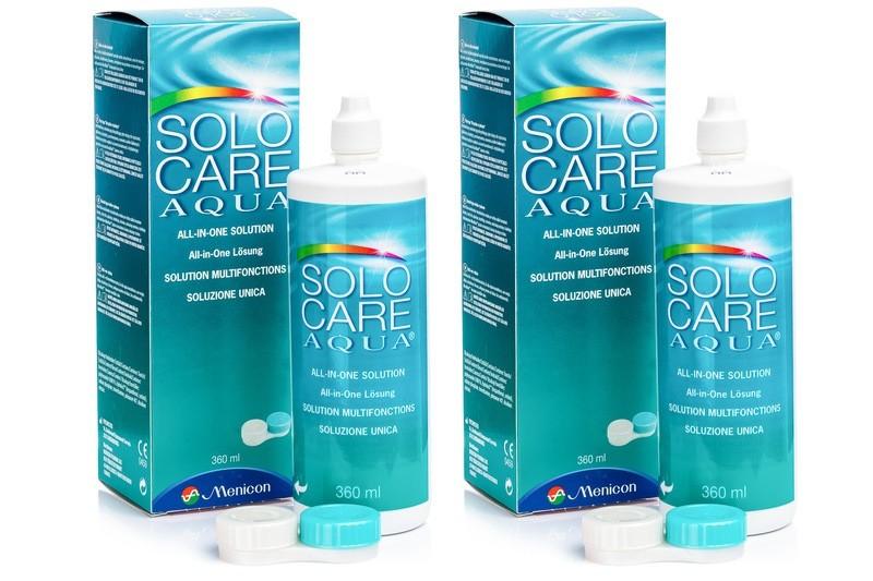 roztok SoloCare Aqua 2 x 360 ml